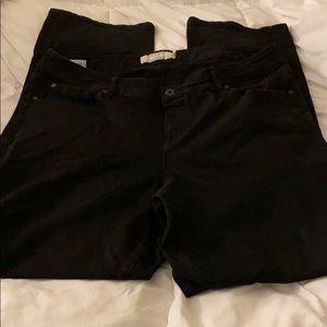 Torrid boot cut jeans size 18